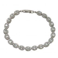 B0040[1] bridal bracelet made of crystals