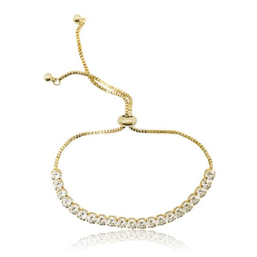 Adjustable bridesmaid bracelet B129G