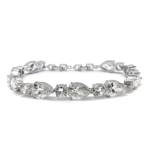DIAMOND LIKE CRYSTAL BRIDAL BRACELET B1408