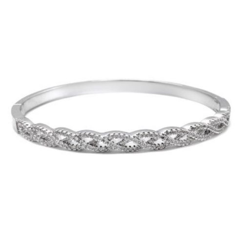 A beautiful crystal bangle B1409