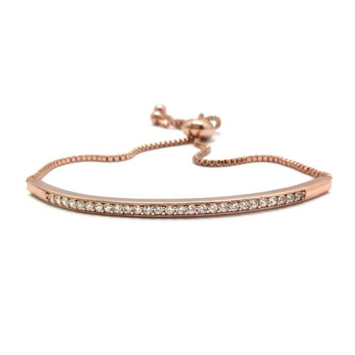 Rose gold bracelet perfect on your big day B2021RG