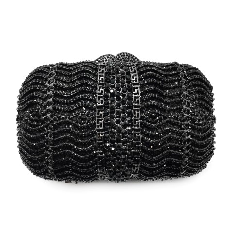 Crystal encrusted evening clutch using Swarovski crystalCL343