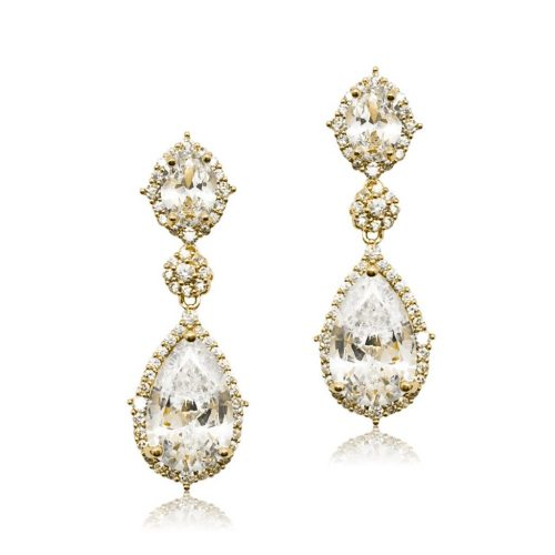 E0072G Stunning bridal earring from Jeanette Maree in Melbourne