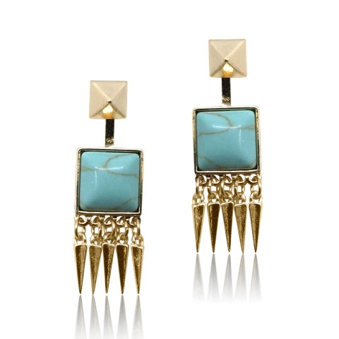turquoise fashion earring E4931T