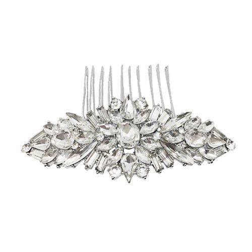 Jeanette Maree sparkling silver headpiece