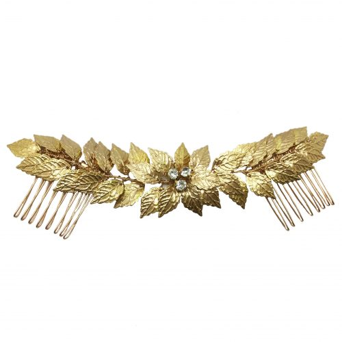 Jeanette Maree vintage wedding haircomb HC079G