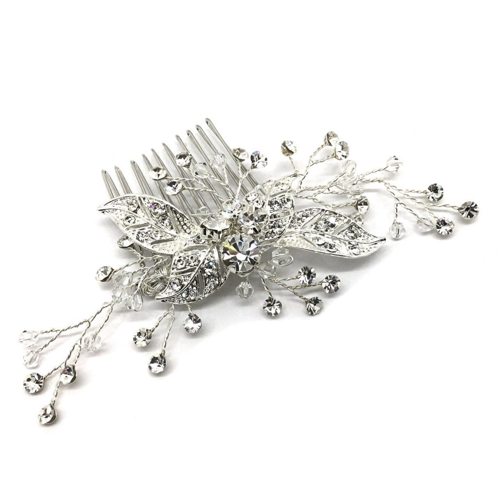 Headpiece that will absolutely sparkle on your wedding day HC83781
