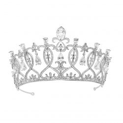 Bridal crystal crownHT1807