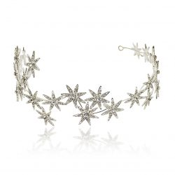 A sparkle bridal crown HT1815