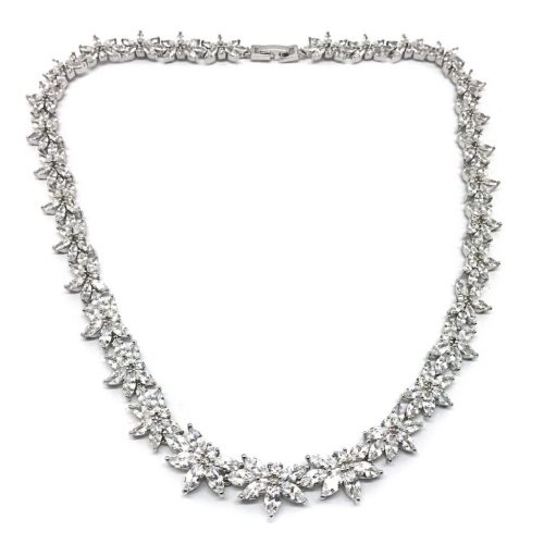 A stunning bridal necklace N778