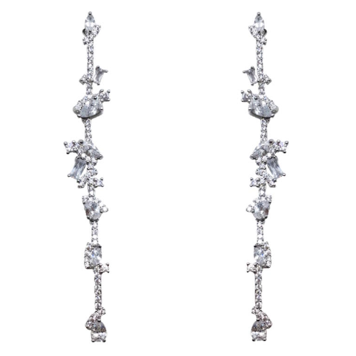 Jeanette Maree stunning diamante wedding earring 66023