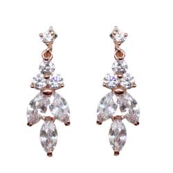 Jeanette Maree stunning diamante wedding earring 6025