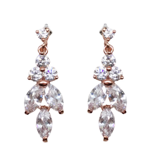 Jeanette Maree stunning diamante wedding earring 6025