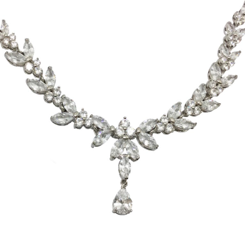 Jeanette Maree stunning diamante wedding necklace